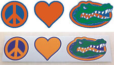 Florida Gators Peace Love Vinyl Decal - Sticker