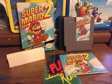 Super Mario Bros. 2 (1988) Nes Box Manual Game Inserts Styrofoam