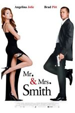 """Mr And Mrs Smith Movie Poster Mini 11""""X17"""""""