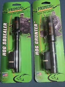Primos 321 Hog Squealer  & 320 Hog Grunter ~ Wild Boar  Hunting Calls