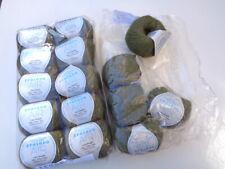15 Skeins Zealana Air Lace Yarn Olive Moss Green A06 Cashmere Possum Silk Luxury