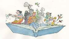 A4 ROALD DAHL (QUENTIN BLAKE CHARACTERS) PHOTO PRINT FOR 99P