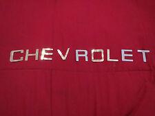1981 – 1986 CHEVROLET PICKUP TRUCK TAILGATE LETTERING LETTERS DECAL SET IN CHROM