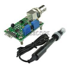 Liquid PH 0-14 Value Detect Sensor Module + PH Electrode Probe BNC for Arduino