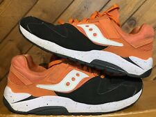 Saucony Grid 9000 Hallowed Pack Black Orange Retro Men's Running Shoes Size 11.5