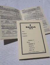 WW2 German Schiessbuch Reproduction