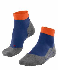 Falke RU4 SHORT Herren Running Socken, Blue/Orange