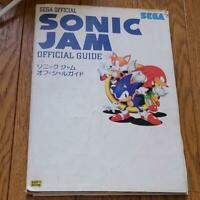 SEGA SATURN [SONIC JAM Official guidebook] from JAPAN w/Tracking#