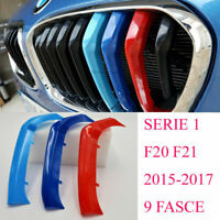 3x Per Bmw SERIE 1 F20 F21 2015>M sport cover griglie fasce Calandre front grill