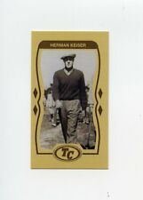 #TN02520 HERMAN KEISER Anti Tobacco Golf Trade Card