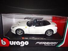 Bburago Ferrari California T Opened Top White 1/24