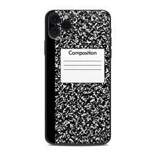 iPhone 11 Pro Max Skin - Composition Notebook - Sticker Decal