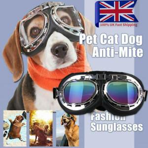 Pet Dog Sunglasses UV Protection Safety Goggles for Small Medium Dog Eye Wear