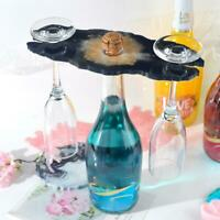 Silikon Weinglashalter Harz Gussform Cup Coaster Epoxy Mold Craft Tool @DE