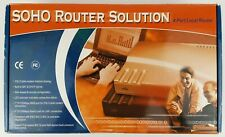 Soho Small Office Home Office Cable Dsl Router with Local 4-Port