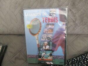 """DVD NEUF """"LEGENDES DU TENNIS"""" documentaire"""