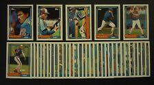 1992 Topps Montreal Expos Team Set with Traded 37 Cards Gary Carter Larry Walker
