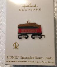 Hallmark Keepsake Lionel Train Nutcracker Route Tender Christmas Ornament  2012