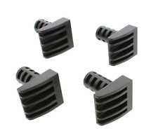 "Dct Woodworking Plastic Bench Dogs 4-Pack – Peg Brake Stops for 3/4"" Inch Holes"