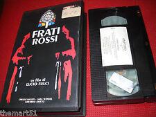 I Frati Rossi (1988) VHS Playtime 1a Ed. Gianni Martucci. Lucio Fulci