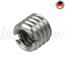 "Convert Screw Adapter Schraube 3/8"" to 1/4"" (Ø9mm x H8mm) Tripod Camera Stativ"