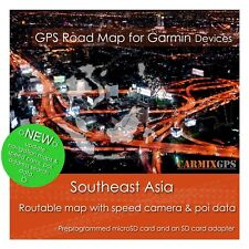 Carmix-Gps - Southeast Asia Map for Garmin - microSd-Sd Card Mc2020Q1Sea