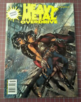 Heavy Metal Overdrive 1995 - EX - Illustrated Fantasy Science Fiction Magazine