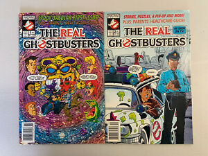 THE REAL GHOSTBUSTERS #1 #2 Now Comics 1991