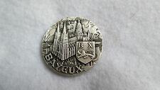 Médaille argent massif Bayeux Croix de Lorraine Juin 1944 Libération par J.Balme