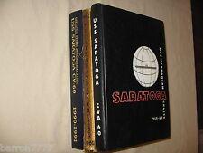 USS Saratoga CV-60  1958 1959-60 1962 1963 1964-65 Multi Lot price for 1 book