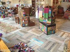 Fair Trade Recycled Wood Removable Wooden Floor Tiles Reclaimed Teak