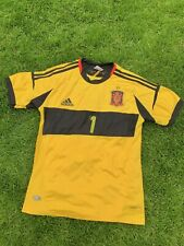Casillas Shirt Spain Home Football Shirt Jersey 2012 Euros Casillas Jersey - M
