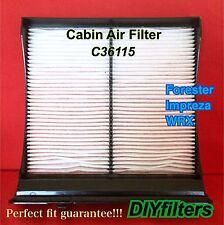C36115 Non-Carbon AC CABIN AIR FILTER for Forester Impreza WRX XV Crosstrek