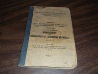 AUGUST 1938 PRR PENNSYLVANIA RAILROAD AGREEMENT WITH LOCOMOTIVE ENGINEERS