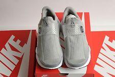 NEW $130 Nike Sock Dart KJCRD Unisex Running Shoe, Gray, SZ 9, EUR 42.5