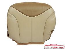 2002 GMC Sierra Denali Truck 4X4 c3 Driver Bottom Leather Seat Cover 2-Tone Tan