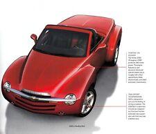 CHEVROLET Corvette C5 SSR Pickup Impala SS Monte Prospekt Brochure USA 2004 H