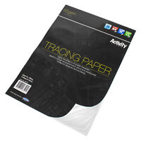 Large A3 Tracing Paper Pad 30 Sheet 65gsm Transparent Clear Pages Art Paper Book