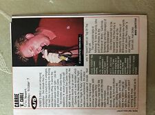 a2j ephemera 1990s music concert review carrie a cable t j's newport
