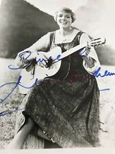Julie Andrews SIGNED Sound Of Music  PHOTO COA JSA Autograph