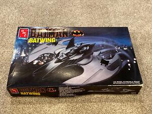 AMT Ertl Batman Batwing 1990 Ertl Model Kit 6970 1/25 Open Box