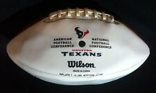 BRIAN CUSHING, J. Weeks & J. Dreesen signed HOUSTON TEXANS football