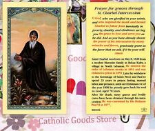 Saint St. Charbel - Prayer for Graces - Laminated Holy Card