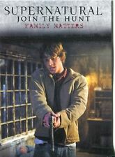 Supernatural Seasons 1-3 Winchester Brothers Chase Card J3 Family Matters