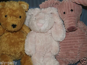 SOFT TOY JELLYCAT DOLLS TEDDY'S TEDDIES JELLY CAT lots to choose