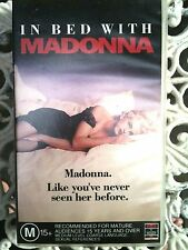 IN BED WITH MADONNA ~ LIKE YOU'VE NEVER SEEN HER BEFORE ~  VHS VIDEO