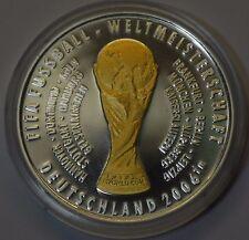 GN073 - Offizielle Silbermedaille Fussball Weltmeisterschaft 2006 WM Deutschland