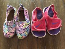 Toddler Girl Summer Nike Pink Sandals Shoes Size 5