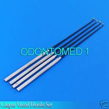 Caspar Vessel Hooks Set Surgical Instruments
