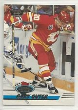 1993-94 Stadium Club - Members Only Logo - #228 - Gary Suter - Flames